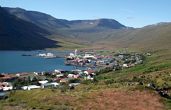 Port of Eskifjörður, new exiting destination