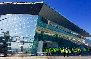 Works on the new Port of Bilbao Cruise Terminal Reach Half-way Point