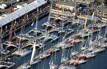 The Route du Rhum : top sailing event : 24 october - 2 november 2014