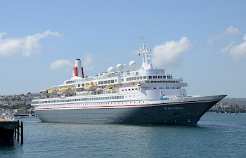 Fred. Olsen Cruise Lines Completes First Season Of  Turnaround Calls At A&P Falmouth