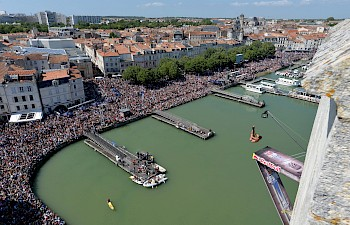 Red Bull Cliff Diving World Series, La Rochelle July 23rd