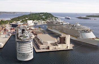 Opening of the New Cruise Pier in Kristiansand