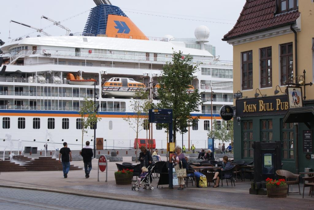 Port of Aaborg - close to city center