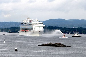 Oslo welcomes Royal Princess