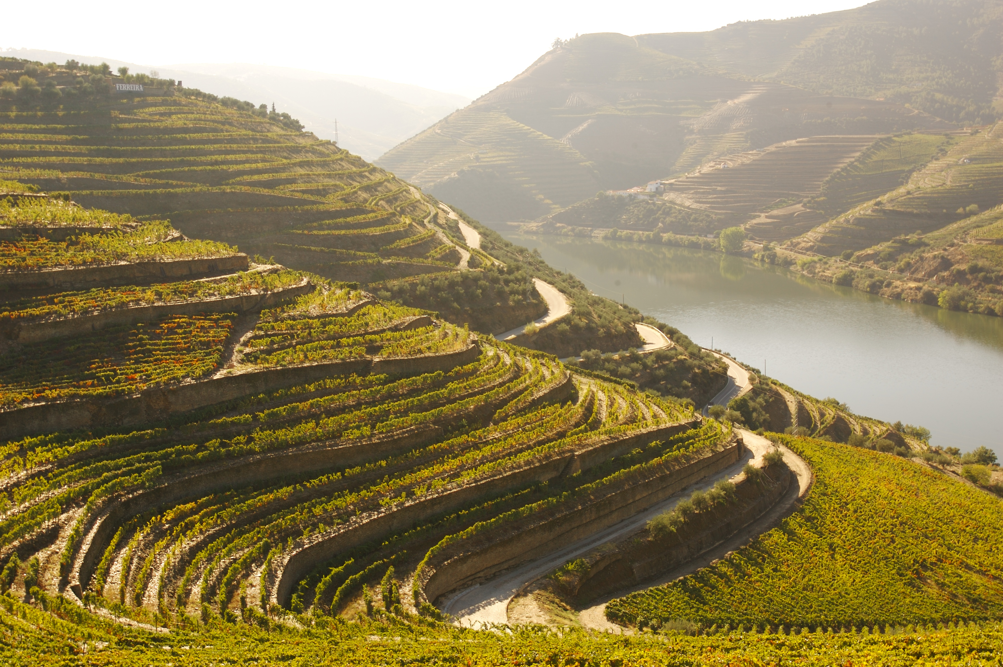 The cultural landscape of the Douro Valley was classified World Heritage in 2001.