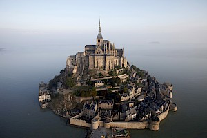 Stand in awe at the UNESCO World Heritage Site, Mont Saint Michel