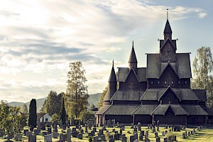 The Heddal Stave Church