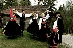 Folkdance at Telemark Museum