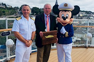 The Disney Magic Makes her Maiden Call to the Port of Cork