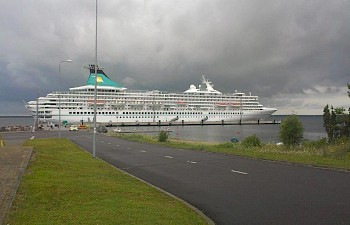 Cruise ships called Saaremaa Harbour nine times