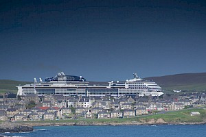 Cruise records rewritten again at Lerwick