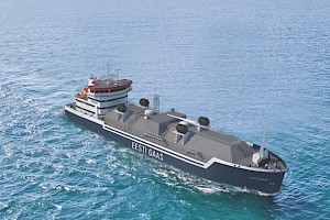 Estonian company Eesti Gaas places order for the first LNG bunker vessel for North-East Baltic Sea