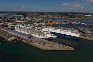 Port of Southampton makes multi-million pound investment into future of cruise