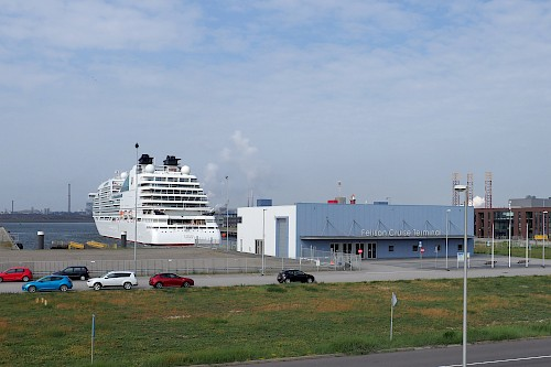 IJmuiden benefits from its position