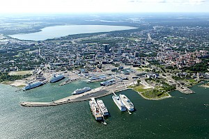 Every second cruise passenger visiting Tallinn is German or American