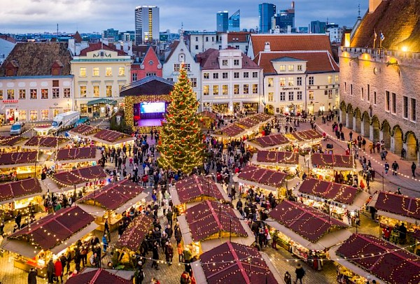 Christmas Cruise brought Finns to Tallinn to discover the best Christmas Market in Europe!