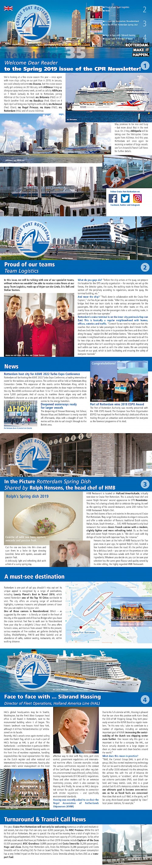 CPR Newsletter SPRING Edition.