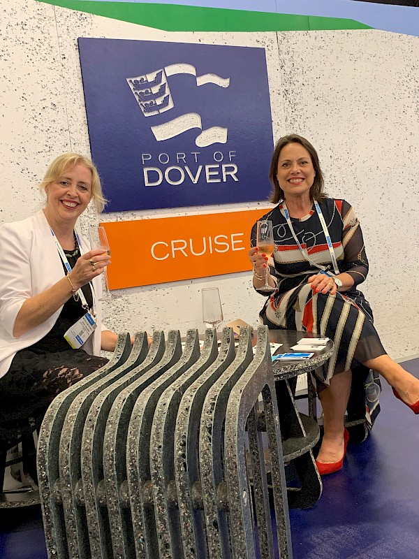 Dover goes for recycled ocean plastics stand