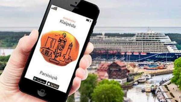 Klaipeda launches audio guide/app and plans new terminal