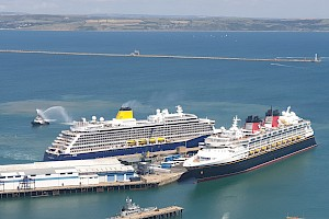 The Maiden Voyage of Saga Spirit of Discovery and the return of Disney Magic
