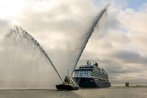 'A British first' cruise call for Port of Southampton
