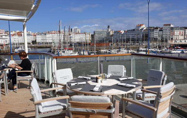 A Coruña in the itinerary of many inaugural trips
