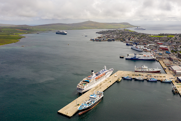 Record-breaking cruise season at Lerwick includes multiple visits
