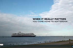 Nieuw Statendam visited Rotterdam for the first time