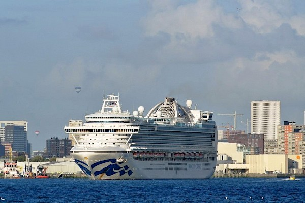 Cruise ships visiting Rotterdam in these unprecedented times